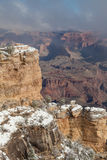 Winter Scenic at the South Rim Stock Photo