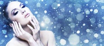 Winter-Schönheit. Lizenzfreies Stockfoto