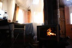 Winter in Schottland Stockfotos