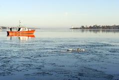 Winter Sea stock photo