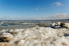 Winter sea. Stock Photography