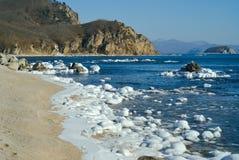 Winter sea 6 Royalty Free Stock Photography