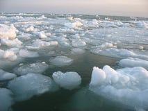 Winter sea Stock Photography