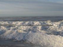 Winter sea. Winter ice on the Baltic Sea Stock Image
