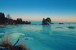 Winter sea landscape Stock Photo