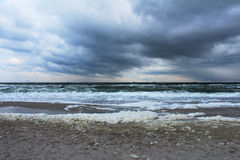 Winter sea view Royalty Free Stock Photography
