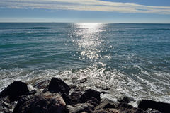 Winter Sea. Royalty Free Stock Images