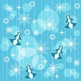 Winter seamless 2 Royalty Free Stock Images