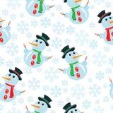 Winter seamless stock photos