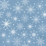 Winter seamless Royalty Free Stock Images