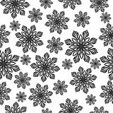 Winter seamless background. Royalty Free Stock Image