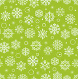 Winter seamless background with snowflakes Royalty Free Stock Image
