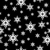 Winter seamless pattern Royalty Free Stock Photo