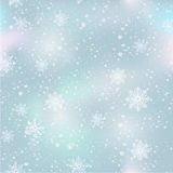 Winter seamless pattern Stock Photos