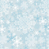 Winter seamless Pattern with beautiful Snowflakes Royalty Free Stock Photo