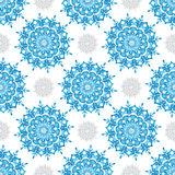 Winter seamless pattern Royalty Free Stock Images