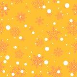 Winter seamless pattern Royalty Free Stock Photo