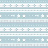 Winter seamless pattern. Retro template can be used for the New Year and Christmas paper and textile Royalty Free Stock Images