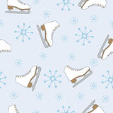 Winter seamless pattern Stock Photo