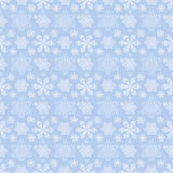 Winter seamless pattern with snowflakes Stock Image