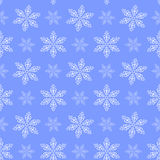 Winter seamless pattern with snowflakes Royalty Free Stock Photography