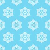 Winter seamless pattern with snowflakes. Royalty Free Stock Photo