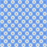 Winter seamless pattern Stock Photo