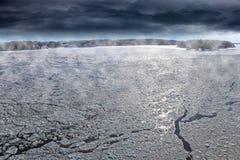 Winter seascape Stock Image