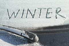 Winter season Stock Image