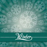 Winter season design Stock Photo