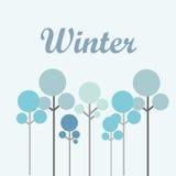 Winter season design Royalty Free Stock Photo