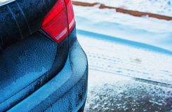 Winter Season Driving Stock Photos