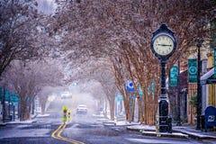 Winter Season In York South Carolina Stock Images