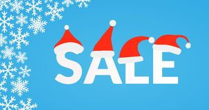 Winter season sale Stock Photos