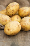 Winter seasonal vegetables collection including potatoes, parsni Stock Photo