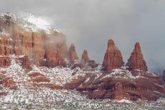 Winter in Sedona Arizona Royalty Free Stock Image