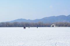 Winter See Stockbilder