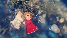 Winter selebrations schöner Hintergrund Stockfotos