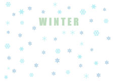 The winter semless pattern. WINTER - The winter semless pattern Stock Illustration