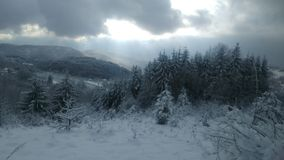 Winter in Serbia Royalty Free Stock Photos