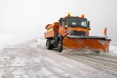 Winter Service Stock Photo