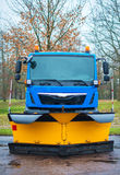 Winter service vehicle. Royalty Free Stock Image