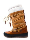 Winter shoe Stock Image