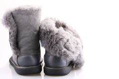 Winter shoes Royalty Free Stock Image