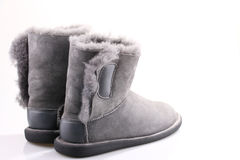 Winter shoes Royalty Free Stock Photography