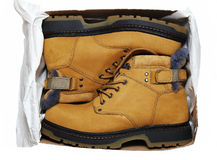Winter shoes Royalty Free Stock Photos