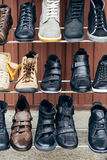 Winter shoes Stock Photography