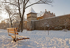Winter in Sibiu Royalty Free Stock Photo