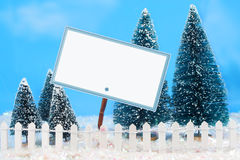 Winter sign stock images