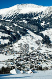 Winter in Simmental, Switzerland Royalty Free Stock Images